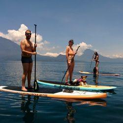 Antigua outdoor activities -paddle boarding in santa cruz