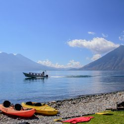 antigua excursion visit lake atitlan outdoor activities - lake atitlan - adventure - kayak - hike - excursion